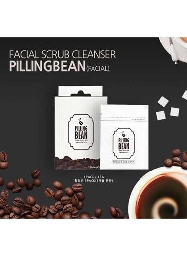 Pilling Bean Kahve Peelingi Tek Paket ( 4 Adet Çekirdek - 2 Haftalık) Renksiz